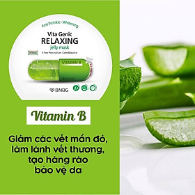 Combo 10 Mặt nạ BNBG Vita Genic Jelly Mask 30ml x10 (Lifting, Whitening, Relaxing, Hydrating)