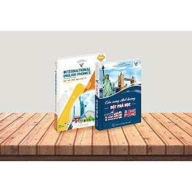 Combo Bộ sách Cẩm nang Học tiếng Anh & Ngữ âm tiếng Anh quốc tế cấp độ trung cấp (Kèm đĩa CD)