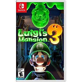 Game Luigi's Mansion 3 cho máy nintendo switch- hàng nhập khẩu