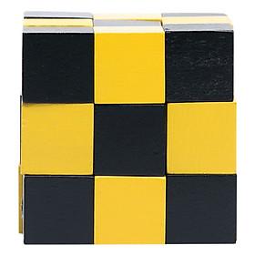 Đồ Chơi Gỗ Rubic Tottosi Hình Con Rắn 202011 (27 Viên)
