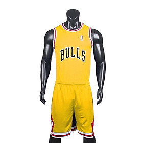 Bộ quần áo bóng rổ BULL vải mè cao cấp các màu