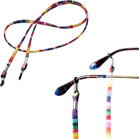 5Pieces Mixed Color Sunglasses Strap Eyeglass Glasses Eyewear String Holder