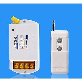 Bộ thiết bị điều khiển từ xa xuyên tường khoảng cách 1KM Honest bật tắt các thiết bị điện công suất lớn như máy bơm, động cơ, bình nóng lạnh, điều hòa...HT-6220KG-1 40A/220V