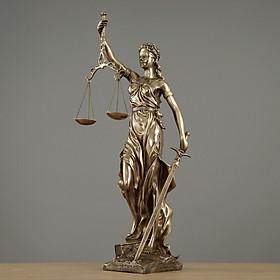 Hình ảnh Decor Trang Trí - Tượng Nữ Thần Công Lý FDR031 Phòng Khách, Làm Việc, Văn Phòng Luật, ...