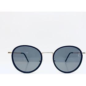Kính mát thời trang nam/ nữ gọng tròn cao cấp, sang trọng tròng kính chống UV400