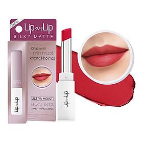 Son Lì Siêu Mịn Dưỡng Tối Ưu Lip On Lip Silky Matte 2.2g-0