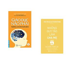 Combo 2 cuốn sách: Giáo Dục Não Phải - Tương Lai Cho Con Bạn + Những Quy Tắc Làm Cha Mẹ