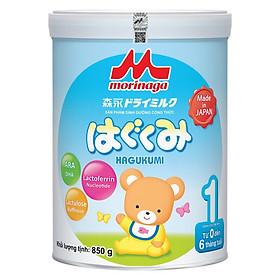 5 hộp sữa Morinaga Hagukumi (850g) - Tặng vali kéo cho bé-2