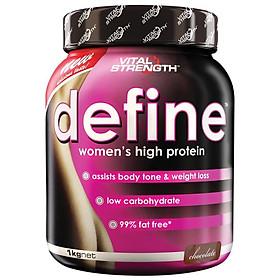 VitalStrength Define Women's high protein 1kg Chocolate