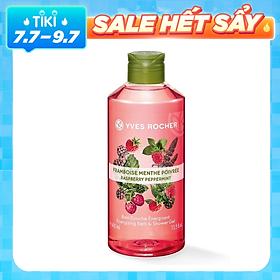 Sữa Tắm Yves Rocher Raspberry Peppermint Energizing Bath & Shower Gel 400ml