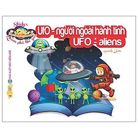 Sticker Khám Phá Thế Giới - UFO Người Ngoài Hành Tinh - UFO Aliens
