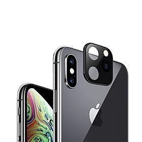 Cụm Camera iPhone X / XS/ XS MAX Giả iPhone 11 Pro / 11 Pro Max Bản Tiêu Chuẩn- Handtown- Hàng Chính Hãng