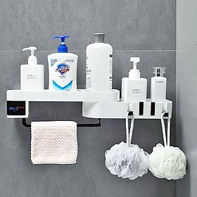 Kệ để đồ nhà tắm HT SYS -E COCO- 2 tầng xoay 180- chất liệu nhựa ABS cao cấp