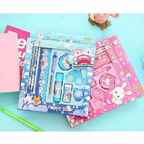 Bộ dụng cụ học tập 9 món tiện ích cho bé