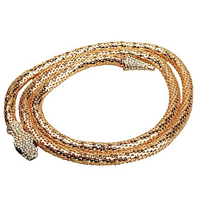 Chain Fashion Snake Necklace Gold Chain Novelty Necklaces Hollow Women Gold