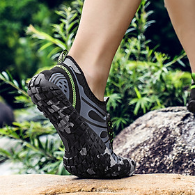 Giày đi nước chống trơn trượt, nhẹ, thoáng, phù hợp đi du lich, leo núi, thân thiện với môi trường, chịu nước tốt và nhanh khô (SA053-G)-1