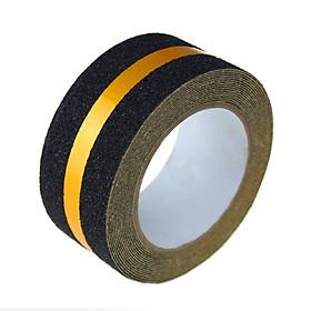Sọc vàng phản quang - Băng keo tape caution nhám chống trơn trượt 5cmx5m