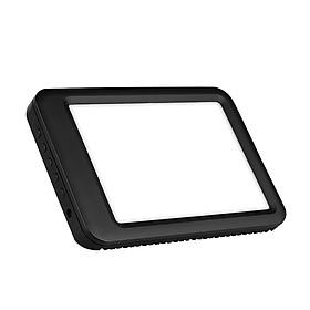 Bảng LED Ánh Sáng Trị Liệu Để Bàn Di Động (5000-35000 Lux) (3000-6500K) - Đen