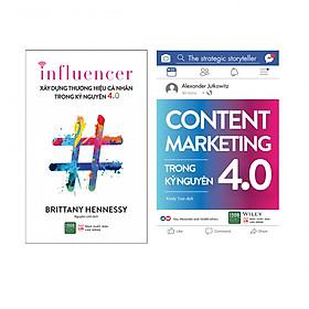 Combo : Content Marketing Trong Kỷ Nguyên 4.0 + Xây Dựng Thương Hiệu Cá Nhân Trong Kỷ Nguyên 4.0