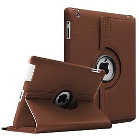 Bao da dành cho iPad 2 / 3 / 4 xoay 360 độ chống bụi chấm thấm tiện lợi - Hàng nhập khẩu