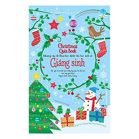 Christmas Quiz Book - Những Câu Đố Khoa Học Dành Cho Học Sinh Về Giáng Sinh