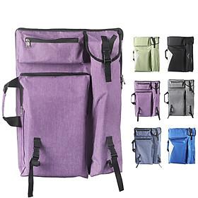 Australia Montmartre Mont Marte 4K waterproof canvas bag shoulders can be back art art test drawing bag sketch drawing board bag purple B-HD-003