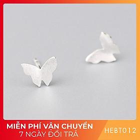 Bông hoa tai nữ bạc s925 cao cấp HEBT012 BH trọn đời