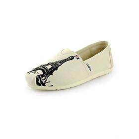 Giày Vải Nữ TS09 - Trắng