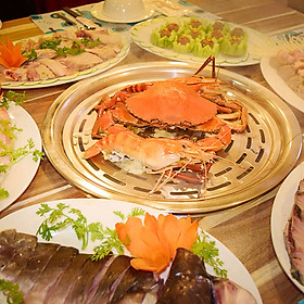 Lẩu Hơi Hải Sản Tươi Ngon Cho 02 - 04 Người – Nhà Hàng Rạng Đông (AD Cả Lễ)