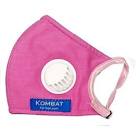 Khẩu trang vải Karibon Kombat  8 lớp có van thở, lọc bụi mịn cho trẻ em