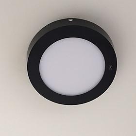 Đèn led ốp nổi viền đen 12w 3 chế độ màu