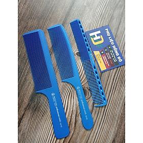 Lược cắt tóc nam mầu xanh dương