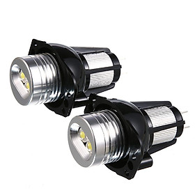 2pcs For BMW E90 E91 LED 10W Angel Eyes Light Headlight Lamp LED Special Fog Lamp