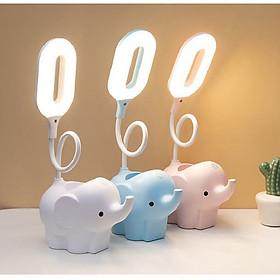 Đèn học để bàn chống cận con voi tích điện điều chỉnh độ sáng