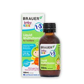 Brauer Vitamin Tổng Hợp cho trẻ tập đi từ 1 đến 3 tuổi