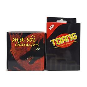 Combo thẻ bài Ma Sói Character Việt Hóa + Bài Toang