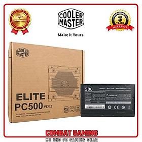 Nguồn COOLER MASTER ELITE V3 230V PC500 500W BOX - Hàng Chính Hãng