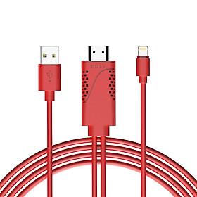 Dây Cáp Chuyển Đổi Lightning Sang HDMI 1080P Cho iPhone X/8/ 7/iPad/iPod Touch
