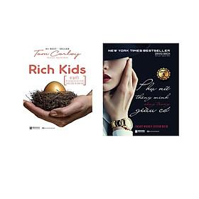COMBO 2 Cuồn RICH KIDS; Bí Quyết Để Nuôi Dạy Con Cái Trở Nên Thành Công Hạnh Phúc ,Phụ Nữ Thông Minh Sống Trong Giau Có sách bizbooks dh