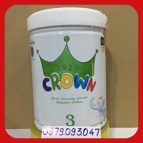 Sữa koko Crown 3 – 800g (nhập khẩu) date:08/2022