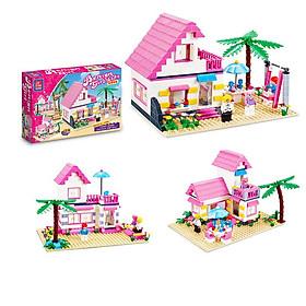 Đồ Chơi Bé Gái Biệt Thự Ven Biển 3302  Bằng nhựa ABS an toàn Lego Style
