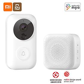 Camera Chuông Cửa Không Dây Có Hình Xiaomi Youpin Dlingsmart C3 Ngoài Trời Nhà Thông Minh