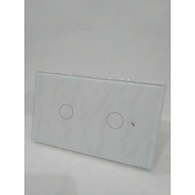 Công tắc wifi điều khiển từ xa qua điện thoại - Loại 2 nút