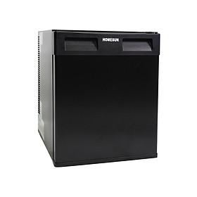 Tủ mát - Minibar thương hiệu Homesun, Model: BCH-36B, Thể tích 36L, Công suất 65W, Điện áp 220VAC, Cửa đen bóng mờ, Không tiếng ồn, Tiết kiệm điện năng, Màu đen sang trọng, Hàng chính hãng
