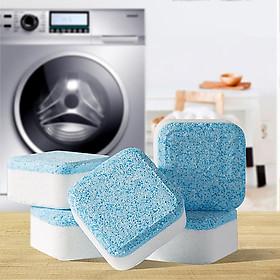 combo 2 hộp (Hộp 8 Viên) Tẩy Lồng Máy Giặt Dạng Sủi Nhật Bản, Vệ Sinh Máy Giặt Và Khử Mùi Hiệu Quả Với Công Nghệ Sủi Bọt Cô Đặc Thế Hệ 2 (tặng kèm 4 viên cùng loại)