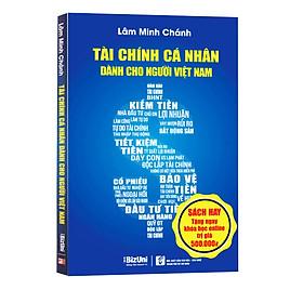 Sách Tài Chính Cá Nhân Cho Người Việt Nam - Tặng Khóa học Online về Tài chính