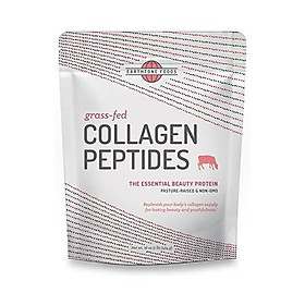 Earthtone Collagen Peptides Powder (16 oz)   Paleo-Friendly Hydrolyzed Grass-Fed Non-GMO Protein (Packaging May Vary)