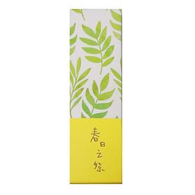 Hộp 30 Bookmark Đánh Dấu Sách Hình Lá