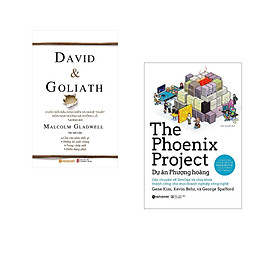 Combo 2 cuốn sách: David & Goliath + Dự Án Phượng Hoàng
