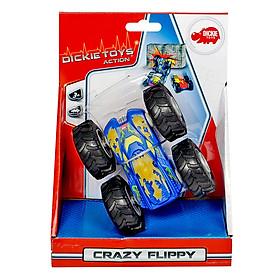 Đồ Chơi Xe Dickie Toys Crazy Flippy - 10 cm (Giao Ngẫu Nhiên)